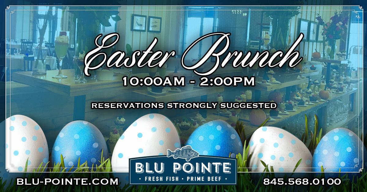 Easter Sunday Brunch - Blu Pointe