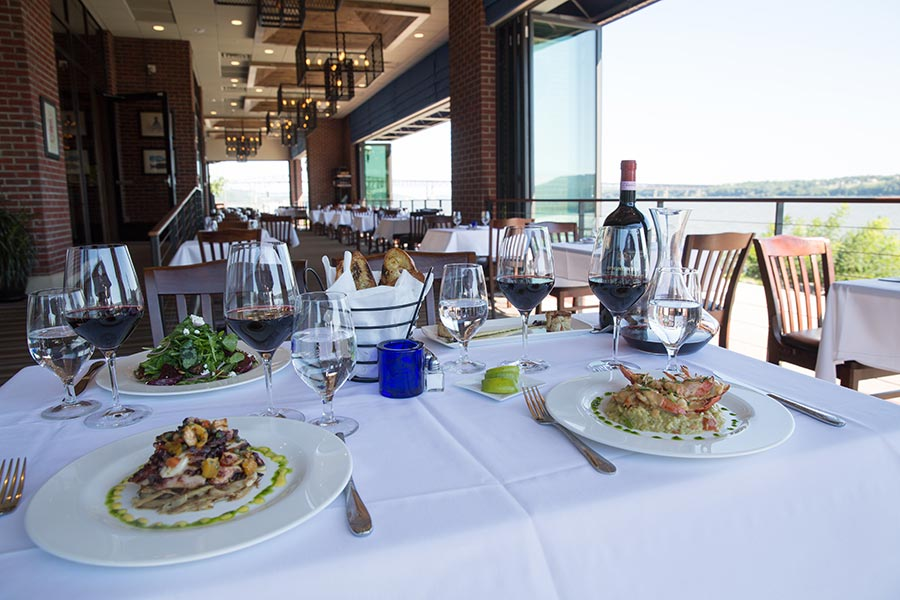 The Blu Pointe Menu Features Usda Prime Cuts Of Meat And Fresh Fish Everyday