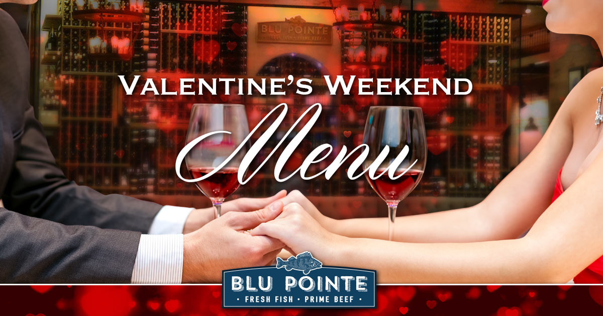 Valentine's Day Menu - Blu Pointe
