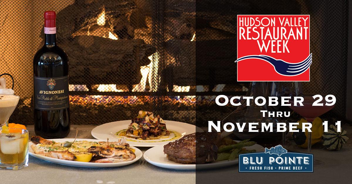 Hudson Valley Restaurant Week Autumn 2018 Blu Pointe